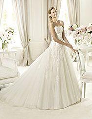 Pronovias > Pronovias vous présente la robe de mariée Barroco. Glamour 2014.
