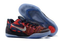 """Philippines"" Air Zoom Kobe EM IX 9 Low Premium Sports Shoes Mens Silver/Obsidian/Laser Crimson"