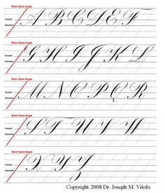 about CALLIGRAPHY on Pinterest   Calligraphy practice, Calligraphy ...