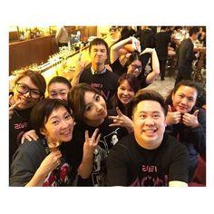 Minzy with AON staff!