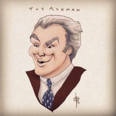 Danny Huston plays The Axeman on American Horror Story: Coven
