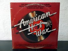 American Hot Wax- Original Soundtrack Album From The Motion Picture. 1978 Double album vinyl LP 33's. Buddy Holly, Chuck Berry...... by AbqArtistry on Etsy