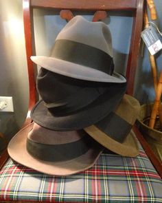 Fresh batch of fedoras now in the shop. Knox, Stetson & misc. brands. Stop by soon to see our selection.  Open tonight until 9 PM. 2545 W. North Ave. Chicago.