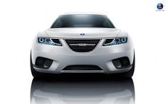 Saab 9-X BioHybrid concept. I would have liked to have seen a new Saab 9-3 with this kind of front end. I like how the nostril grilles are actually made more noticeable by how the headlight flows around them instead of being simply squashed up against each other.