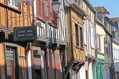 Beauvais, France. Rue du 27 juin © Jean-François BOUCHE- Ville de Beauvais