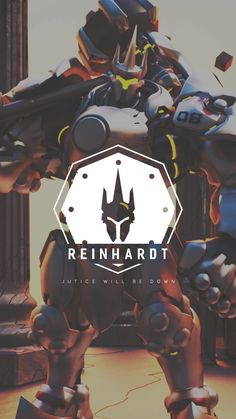 Overwatch - Reinhardt Wallpaper Mobile, C L W N on ArtStation at https://www.artstation.com/artwork/GEREQ