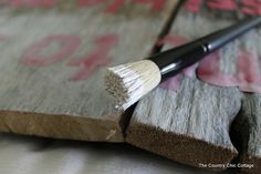 How to: sign barnwood