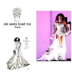 On Aura Tout Vu designs #couture national outfit for Miss France contestant Miss Universe 2018 http://www.missfashionnews.com/alicia-aylies-on-aura-tout-vu-miss-universe/