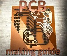PCB Making Guide : 8 Steps (with Pictures) - Instructables The Effective Pictures We Offer You About DIY Hacks clothes A quality picture can tell you many things. You can find the most beautiful pictu Hobby Electronics, Cool Electronics, Electronics Projects, Electrical Projects, Circuit Board Design, Printed Circuit Board, Electronic Parts, Electronic Engineering, Placa Pcb