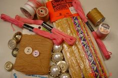 Sewing Craft Supplies EmbroideryThread by MellyMcBlueTreasures