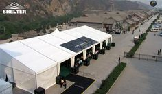 SHELTER Event Tent - Commercial Marquee - Luxury Wedding Reception Tent - Outdoor Catering Venue -17