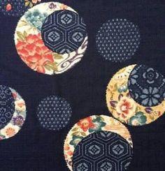 Kobayashi Indigo Temari Japanese dobby cotton fabric yardage by kimonomomo on Etsy Japanese Quilt Patterns, Japanese Patchwork, Japanese Textiles, Quilt Block Patterns, Japanese Fabric, Asian Quilts, Asian Fabric, Fabric Art, Cotton Fabric