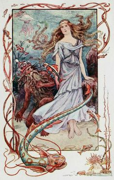 """""""History of Fairy Queen.""""  illustrated by Frank C. Pape"""