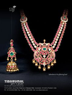 jewellery from tibarumal gems and jewels.for more visit:http://www.creativelycarvedlife.blogspot.in/