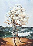 Salvador Dali - The Ship Kunstdruck (50,80 x 71,12 cm)
