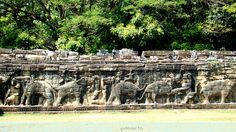 Terrace of the Elephants #Angkor #SiemReap #Cambodia #Asia