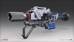 ArtStation - Destiny - The Taken King - Rocket Launcher, Mark Van Haitsma