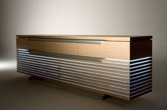 Contemporary sideboard / in wood TOSAI by Peter Maly Conde House Europe