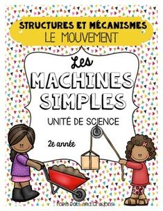 This unit follows the Ontario Science Curriculum (Grade 2) and covers the overall expectations/standards. Grade Two Science Unit, Movement and Simple Machines.You may also be interested in my Simple Machines mini poster set that goes well with this unit.Please download the preview to see all the pages included.Topics covered:6 simple machines-booklet-independent project-worksheets-interactive journal pages-cut and paste activities-movement: push and pullPlease visit my store Polka Dots and…