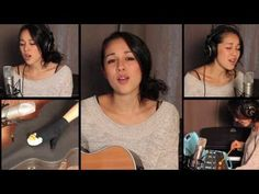 In Your Arms - Kina Grannis :: Beautiful song for walking down the aisle.  Acoustic guitar