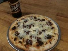 "This week's featured pizza. ""The Reuben Sierra."" Sierra Nevada braised Angus Corned Beef, 1000 Island Dressing, Mozzarella, Swiss and Sauerkraut. Available in 10"" & 14"" Available Until Jan 26th."