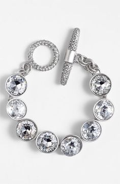 Juicy Couture 'Glam Rocks' Station Bracelet available at #Nordstrom