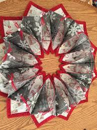 """Képtalálat a következőre: """"fold n stitch wreath tutorial"""""""