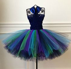 Peacock Flower Girl Dress - but wait....there's more