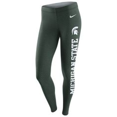 Women's Nike Green Michigan State Spartans Tailgate Leg-A-See Leggings