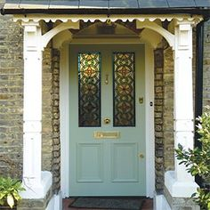 Fantastic photo - browse our short article for more tips! Fantastic photo - browse our short article for more tips! Fantastic photo - browse our short article for more tips! Fantastic photo - browse our short article for more tips! Yellow Front Doors, Front Doors With Windows, Wooden Front Doors, Front Door Entrance, Painted Front Doors, Back Doors, Entry Doors, French Doors Patio, Patio Doors