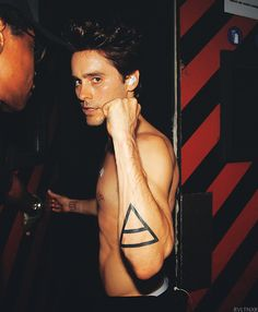 Jared Leto, of my favorite band, 30 Seconds to Mars.