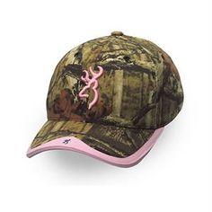 Gunner Camo Hat - Mossy Oak Infinity/Pink - Adult cap adjustable fit - Hook and Loop Back