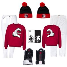 Swagg couple, created by jordansworld on Polyvore
