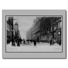 Vintage 1890s Manchester Deansgate photo postcards