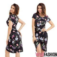 Eleganța de marți se îmbracă în flori... ;) 🌸🏵️ Spandex, Casual, Dresses, Fashion, Vestidos, Moda, Fashion Styles, Dress, Fashion Illustrations