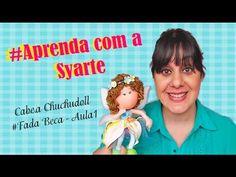 Cabeça boneca Chuchudoll em E.v.a # Fada Beca Aula 1 - YouTube