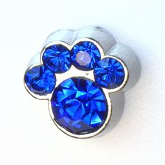 September Birthstone Paw Print Floating Locket Charm at showyourcharm.com Create your unique pet family floating locket with these cute birthstone paw prints . Add other jewelry charms with them to create your pet's story inside your floating locket.