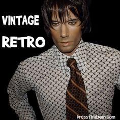 mens retro vintage shirts