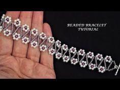DIY beaded bracelet, pattern for beginners. DIY beaded bracelet, pattern for beginners. DIY beaded bracelet, pattern for beginners. Bracelets Diy, Seed Bead Bracelets, Fashion Bracelets, Bead Jewellery, Diy Jewelry, Beaded Jewelry, Jewelry Making, Beaded Necklace, Beaded Bracelet Patterns