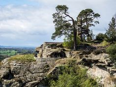 Hawkstone Folly by martynmac, via Flickr
