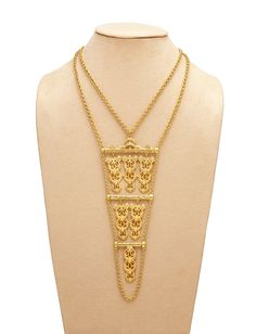 Antique Gold Agra Necklace