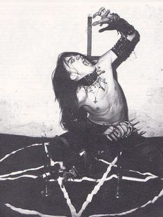 CLASSIC:  Quorthon from Bathory (RIP)
