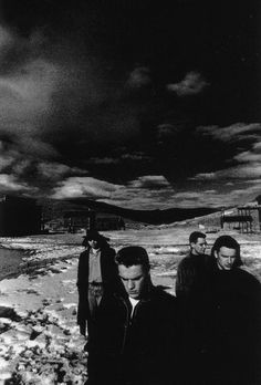 U2 Photographed by Anton Corbijn at Bodie Ghost Town