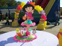 mesa de fiesta infantil   Centro De Mesas Infantiles Todo Para Sus Fiestas Infantiles