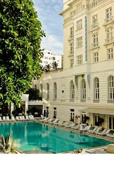 I do think the Copacabana Palace by Orient-Express in Rio, Brazil might be wonderful after London this Christmas if I do say so myself...