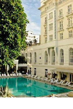 Hotel Copacabana Palace - Rio, Brazil  #JetsetterCurator