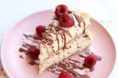 Zdravé dezerty, koláče a zákusky | fitrecepty.sk Cheesecake Fit, Healthy Cheesecake, Coconut Cheesecake, Healthy Cookies, Healthy Desserts, Dessert Recipes, Desserts Sains, Coconut Protein, How Sweet Eats