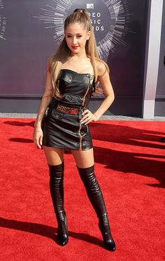 MTV #VMAs 2014: Our top 19 best dressed from the wildest show of the year // Ariana Grande in Moschino