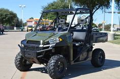 New 2017 Polaris RANGER XP 1000 Sage Green ATVs For Sale in Texas. 2017 Polaris RANGER XP 1000 Sage Green, 2017 Polaris® RANGER XP® 1000 Sage Green Features may include: World s Most Powerful UTV with 80 HP Adjustable Smooth Riding Suspension and Class Exclusive Throttle Control Modes Industry Exclusive Pro-Fit Cab Integration and Hundreds of Accessories HARDEST WORKING FEATURES WORLD'S MOST POWERFUL UTILITY SIDE BY SIDE The ProStar 1000 engine is tuned to put out an industry leading 80 HP…