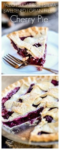 The best cherry pie! Paleo and sugar free made with stevia and NO grains! Delicious and perfect dessert!The best cherry pie! Paleo and sugar free made with stevia and NO grains! Delicious and perfect dessert!joyfulbite/